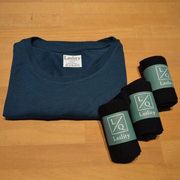 Gaveæske Herre m. 1 t shirt og 3 par strømper